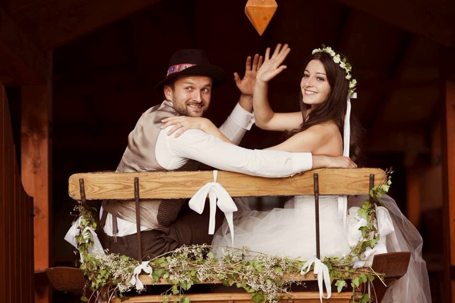 Wedding concept - Country Style
