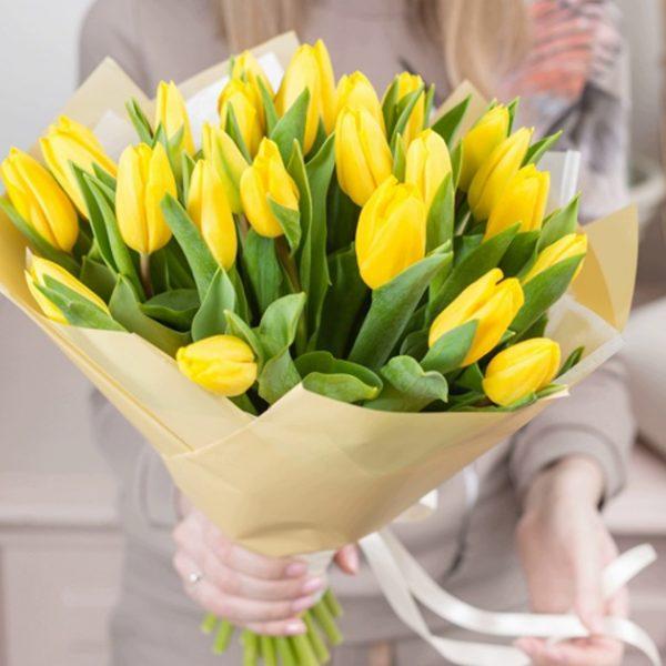 tulips bouquet
