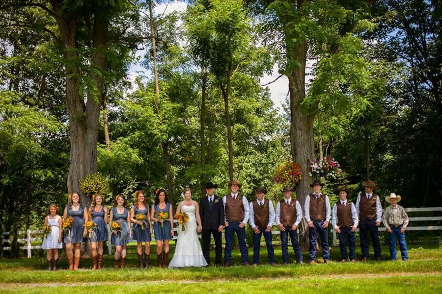 Wedding Concept - Ranch Style