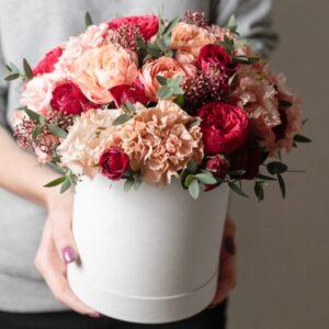 Floral hat-box