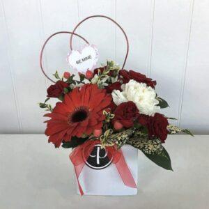 Flower arrangement for Valentine's Day